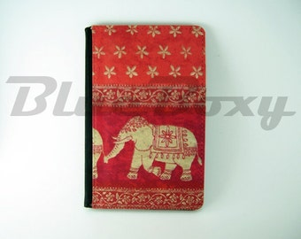 Asian Elephant Passport Cover - Passport Holder, Passport Wallet