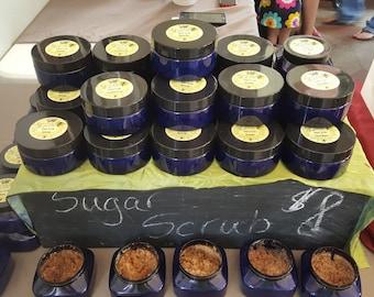 Sugar scrub 8 oz. - Natural Ingredients
