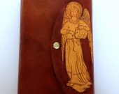 Fra Angelico's Angel MAGNIFICAT Cover: Leather & Handmade