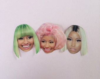 Nicki Minaj Sticker Set