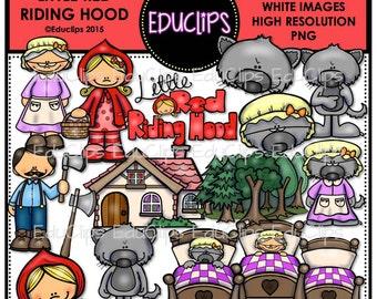 Little Red Riding Hood Clip Art Bundle