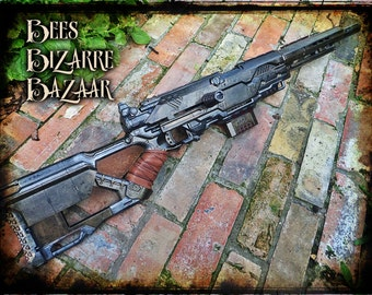 Steampunk Nerf Gun -Sniper Hunting Rifle - Cosplay - Longstrike