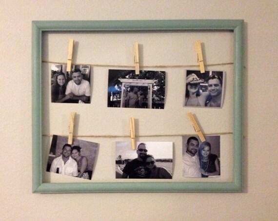 Clothespin Photo Display – Craftbnb
