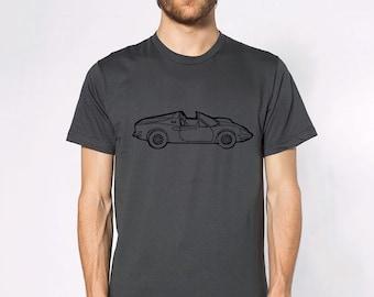 KillerBeeMoto: Limited Release Vintage Italian Sports Car  Short & Long Sleeve Shirt Cartoon Style