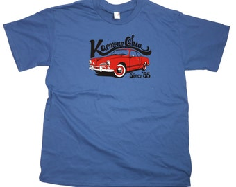 Men's VW Karmann Ghia Retro T-Shirt