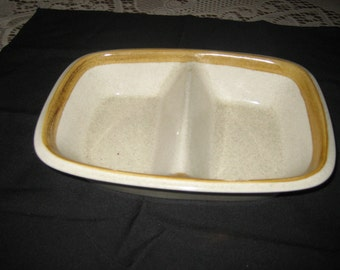 Mikasa Stoneware Relish Tray