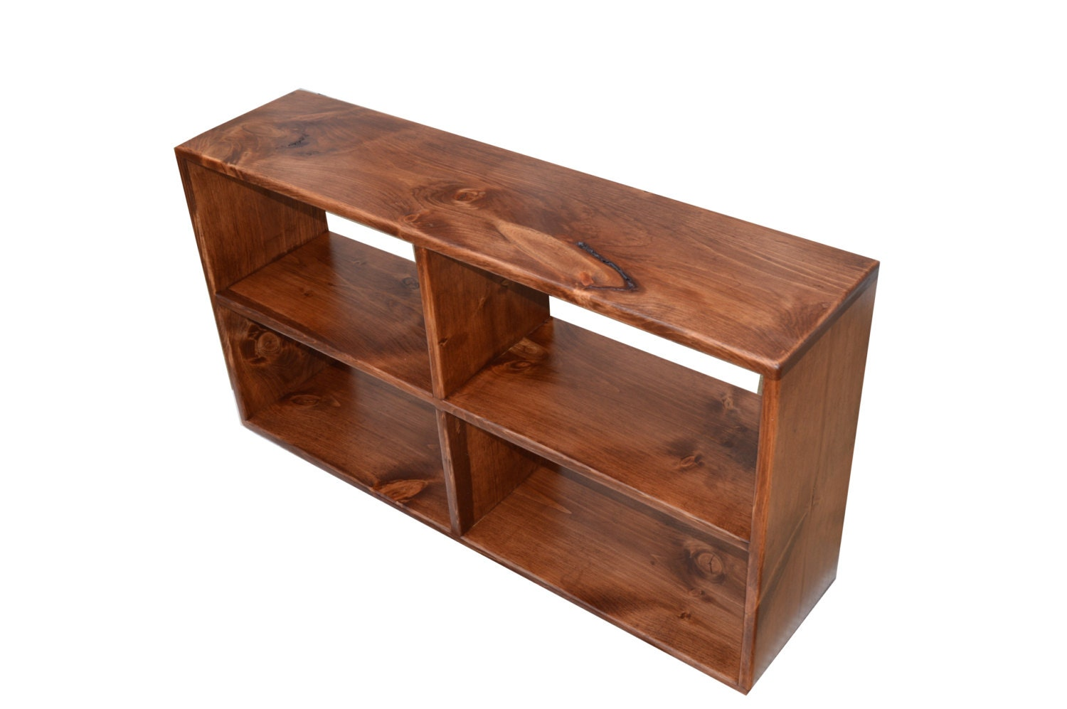 4 Cubby Toy Storage Bench Media Shelf Entryway Bench