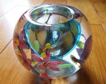 Murano Candle Holder