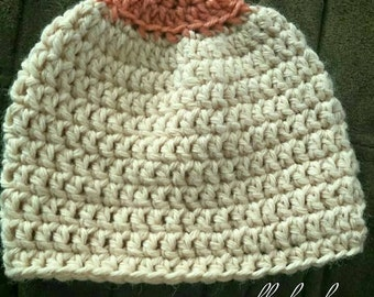 Crochet Made to Order Boobie Breastfeeding Hat; Infant - Adult Sizes Available,  Choose Your Own Colors!