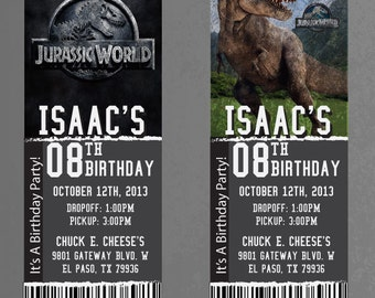 Custom Jurassic World Birthday/Event Invitation!