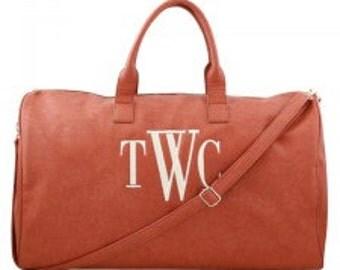 Monogram Camel Duffle Bag WH67