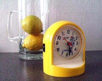 Vintage  Battery Alarm Clock  Quarz