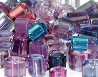 1 oz Mixed Watercolor ~ Furnace Art Glass Beads