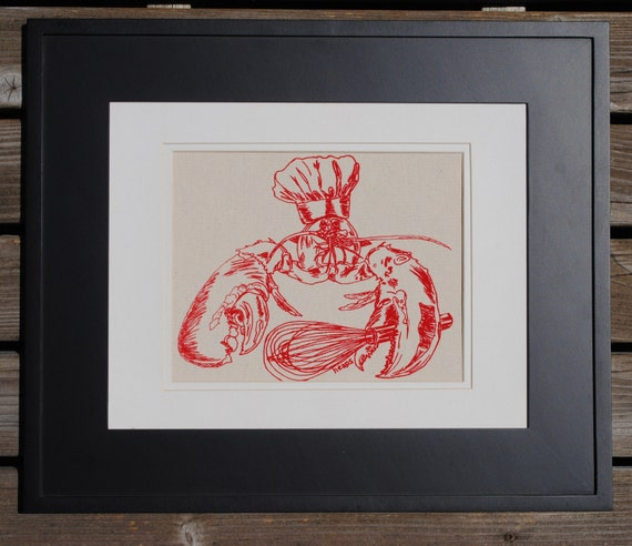 Red Lobster Wall Decor Art Print Wall Art For Living Room