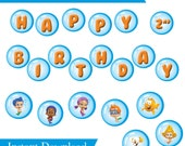 Bubble guppies birthday banner template images galleries with a bite - Bubble guppies birthday banner template ...