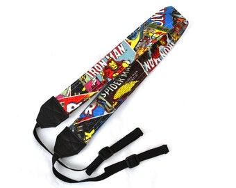 Marvel Comic, Retro Superhero DSLR Camera Strap! This is a full strap not a cover! Standard Size