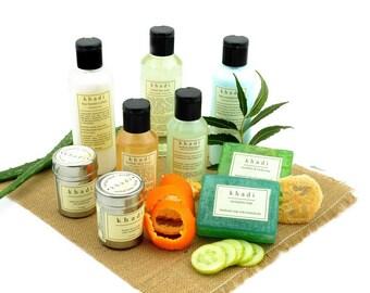 All Natural Handmade Acne Care Solution Acne Treatment Detox Kit for Oily Skin & Hair