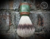 Vegan Shaving Brush - Handpainted and Crafted with 100% Animal-Friendly Bristles