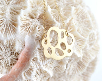 Unique Biology Inspired Pendant in Bronze - Signature Collection