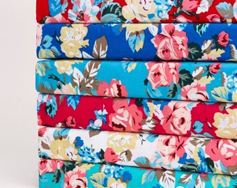 Fabric Fat Quarter Bundle Vintage Floral
