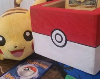 Pokémon Party Favors, Pokemon Go, Birthday Decor, Piñata Box, Pokéball Box,