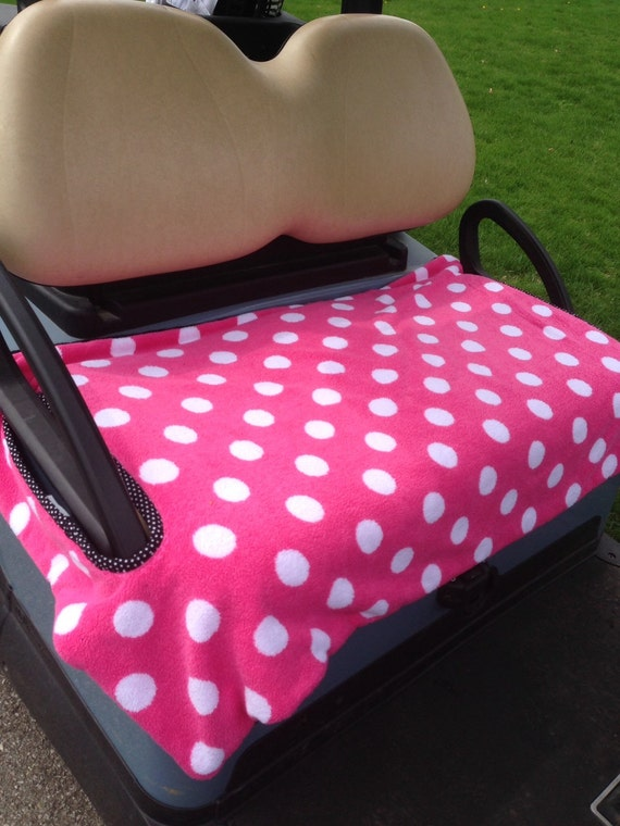 Pretty In Pink Golf Cart Seat Cover By GolfMeAround On Etsy