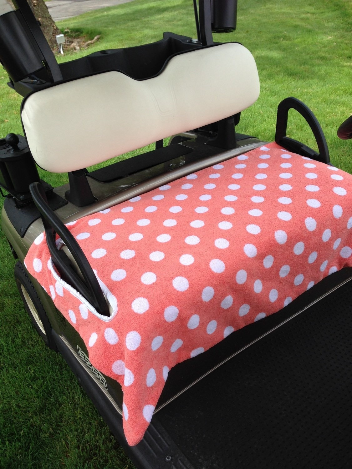 just peachy terry cloth golf cart seat cover. Black Bedroom Furniture Sets. Home Design Ideas