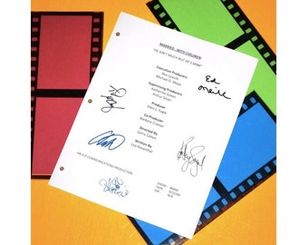 Married With Children 1989 TV Script Autographed: Ed O'Neill, Katey Sagal, Christina Applegate, David Faustino, Ted McGinley