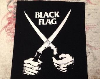Black Flag Punk Patch
