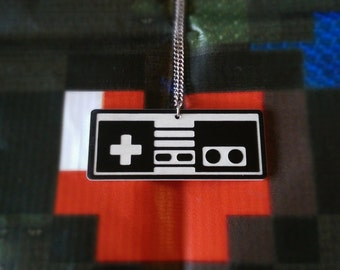 Video Game Controller Necklace!