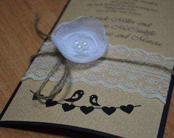 Rustic Invitations Wedding