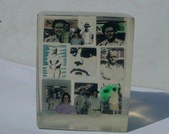 resin artwork  picture block