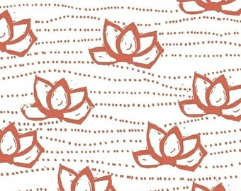 SALE Lucky - Kamala in Coral Pink - Lotta Jansdotter - Windham (40683-7)