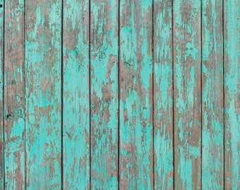 Green wood backdrop,newborn vinyl photography backdrop,old faded peeling wood floordrop D4158