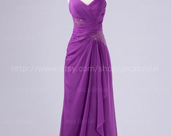 Cap Sleeves Chic Bridesmaid Dress Mother of Bride Dress Available in Plus Sizes B551