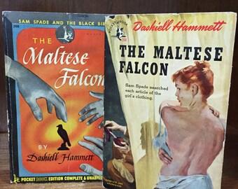 The Maltese Falcon by Dashiell Hammett ~