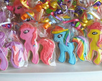 My Little Pony Cookies 1 dozen  (Individually Bagged)
