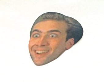 Nicolas Cage Sticker