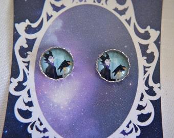 Maleficent - Sleeping Beauty - Villain - Disney - stud earrings