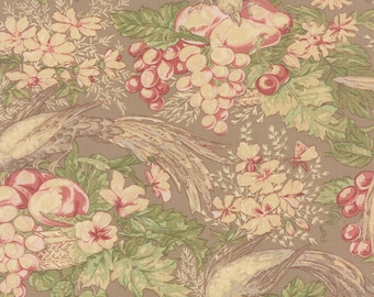 Country Orchard by Blackbird Designs for Moda. Yardage Dry Earth 2750 13