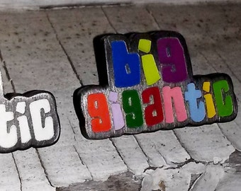 Big Gigantic - Glow Gigantic - Big G - Festival Pin - Hat Pin