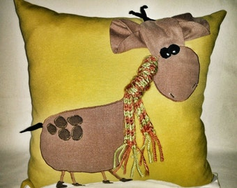 Cute Giraffe Pillow