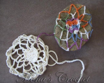 Hand Crocheted Dainty Heart Soap Cover | Decorative Soap Holder