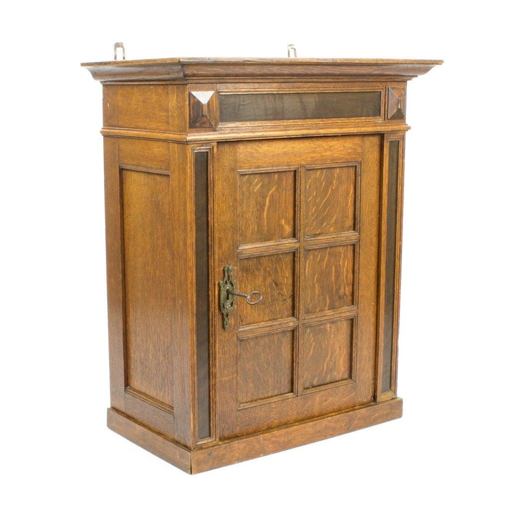 Gorgeous Wooden Cupboard Hanging Medicine Cabinet Art Deco Style Haute Juice
