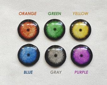 "SA Handmade 12""Blythe / Middle Blythe / Byul / DAL / Pullip / Yeolume custom eye chips - Pupil"