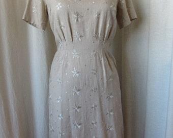 1960's Linen Dress