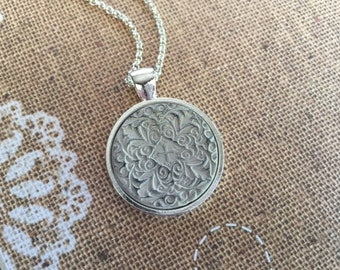 Natural Clay Essential Oil Diffuser Necklace
