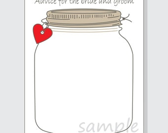 The price is right printable game cards for a bridal shower diy advice for the bride and groom mason jar printable cards for a shower or wedding pronofoot35fo Images