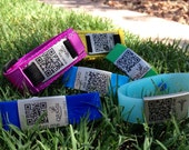 QR Coded Safety Wristband (Velcro)