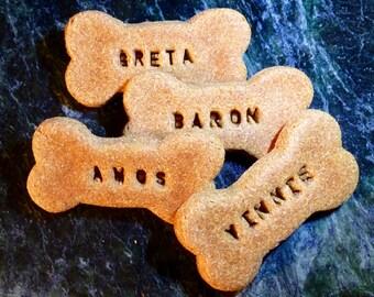 Gourmet Dog Treats: Homemade Personalized Dog Bones